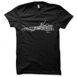 t-shirt Albator plan ship...