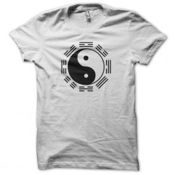Naruto clan Hyuga ying yang white sublimation t-shirt