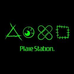 shirt Plaie Station black sublimation