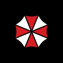 Tee shirt Resident Evil Umbrella Corporation  sublimation