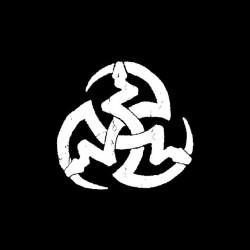 Vampire symbol 3 serpents black sublimation t-shirt