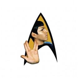 Star Trek Spock sign white sublimation t-shirt