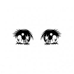 Tee shirt manga yeux espoir...