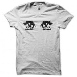 Tee shirt manga yeux espoir  sublimation
