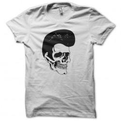 T-shirt Elvis Presley skull white sublimation
