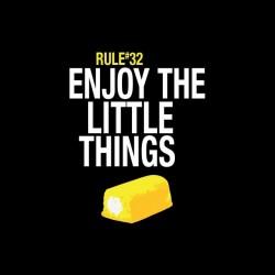 Zombie t-shirt regle 32 Enjoy the little things black sublimation