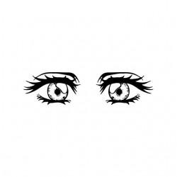 Tee shirt manga yeux contemplatifs  sublimation