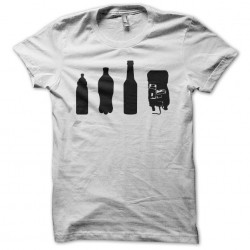 Evolution drink t-shirt in white life sublimation
