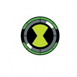 Omnitrix symbol ben10 white...