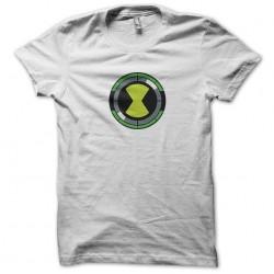 Omnitrix symbol ben10 white sublimation t-shirt
