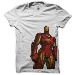 Ironman t-shirt artistic version white sublimation