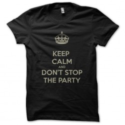 tee shirt keep calm and don...