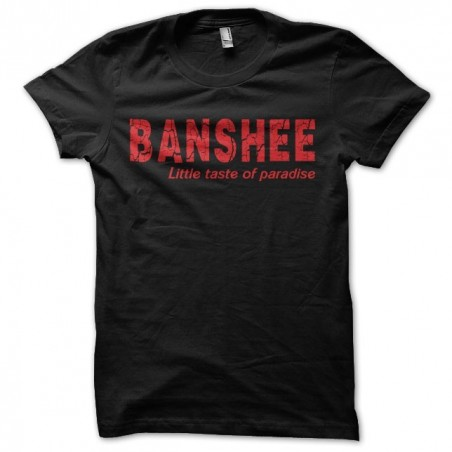 Banshee t-shirt Little taste of paradise black sublimation