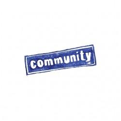 Tee shirt Community la série  sublimation