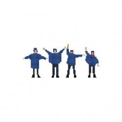 Tee shirt The Beatles Help...