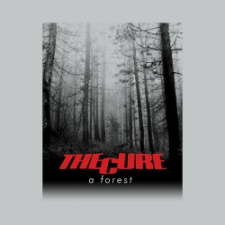 The Cure a forest sublimation gray t-shirt