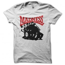 Madness T-shirt One step beyond white sublimation