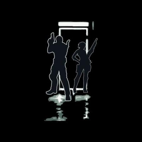 Resident Evil 2013 artwork black sublimation t-shirt