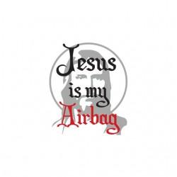 Jesus is my airbag white...