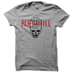 T-shirt Pentakill skull gray sublimation