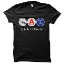 Tee shirt Code de la route...