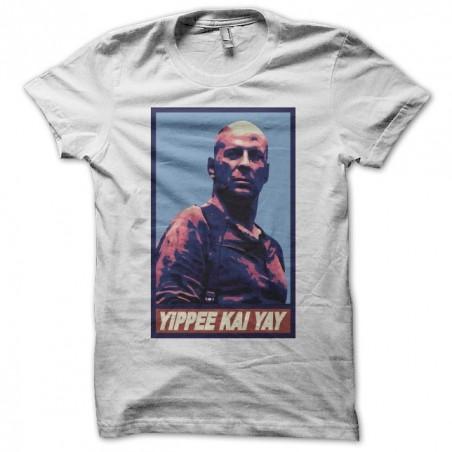 Tee shirt Yippee Kai Yay Die Hard parodie Obama Obey  sublimation