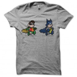 T-Shirt parody batman 8 bit...