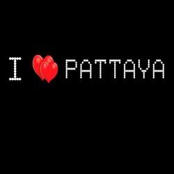 Tee Shirt i love pattaya 2 I love pattaya black sublimation