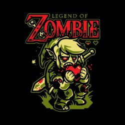 Zelda Drug T-Shirt Zombie Black Sublimation