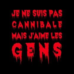 Cannibale black sublimation t-shirt