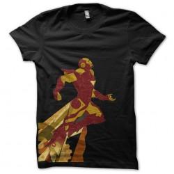 Tee shirt iron flying man...
