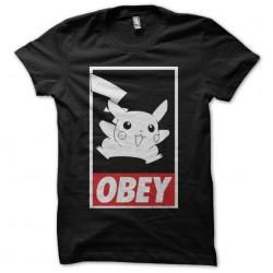 Pikachu parody Obey black...
