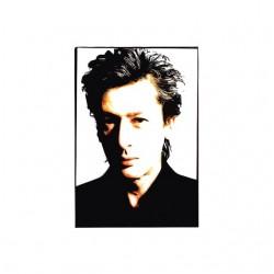 Alain Bashung portrait t-shirt white drawing sublimation