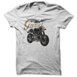 Guzzi moto white...