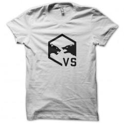 Tee shirt Spies vs Mercs video game Splinter Cell Blacklist white sublimation