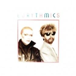 Eurythmics 80s raster white sublimation t-shirt