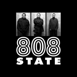 T-shirt 808 State triptych...