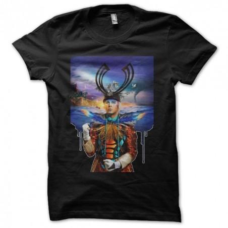 Empire of the Sun fan art black sublimation t-shirt