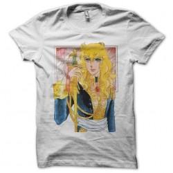 Lady Oscar sublimation white t-shirt