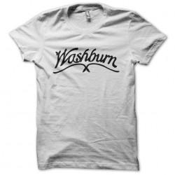 Washburn white sublimation t-shirt