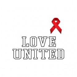 Tee shirt Love United...