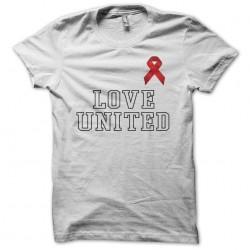 Tee shirt Love United Sidaction 2002  sublimation