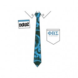 Nerdz Necktie Phi Beta...