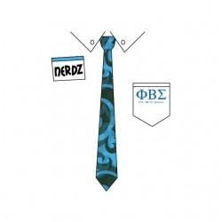 Tee shirt Nerdz Necktie Phi...