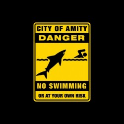 Amity swim banned danger...