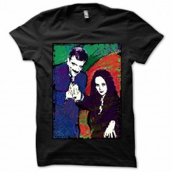 tee shirt Parlezvous french? black sublimation