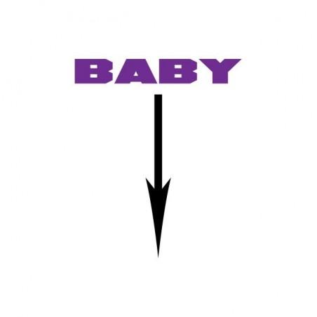 Tee shirt Baby arrow notification  sublimation
