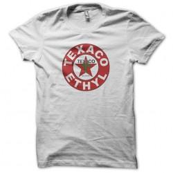 texaco t-shirt white sublimation