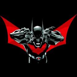 Batman beyond black sublimation t-shirt