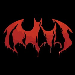 Tee shirt death of batman art  sublimation